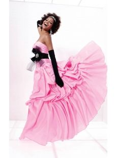 prom dress long pink wedding rose black summer