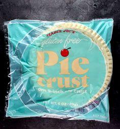 Trader Joe's Gluten Free Pie Crust review #traderjoes Gluten Free Pie Crust, Pie Crust Recipes, Pie Crusts, Wheat Free Recipes, Gluten Free Recipes, Frozen Pie Crust, Healthy Groceries, Trader Joe's, Calorie Counting