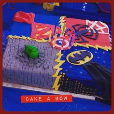 #superherobirthdaycake