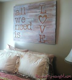 pallet signs - Google Search - neat idea for my teen daughter's room