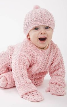 Nordic Yarns and Design since 1928 Baby Knitting Patterns, Baby Patterns, Crochet For Kids, Free Crochet, Crochet Coat, Diy For Girls, Knitting Projects, Diy Clothes, Kids Outfits