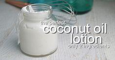 Coconut Oil Lotion Recipe