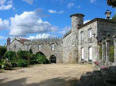 Pazo de Cotón en #Negreira. Data del siglo XV A #Coruña