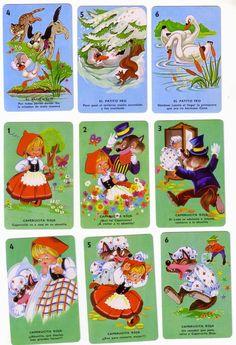 Barajas y Naipes: 7 cuentos infantiles