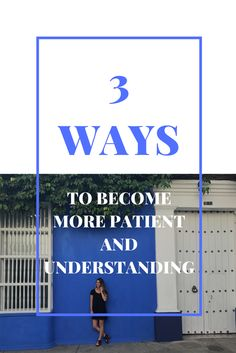 Personal Development: Three SImple Ways To Become More Patient And Understanding Share My Life, Areas Of Life, Open Book, My Goals, Simple Way, Personal Development, Ava, Storytelling, How To Become