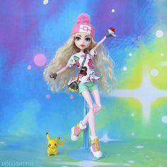 Pokemon Trainer Katherine by Dollightful :D
