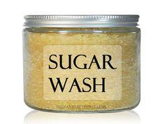 DIY Sugar Face and Body Wash