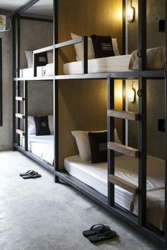 Clean & Simple Bunk Beds With Stairs, Loft Spaces, Attic Spaces