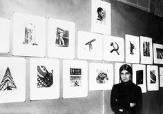 Tina Modotti at an exhibition of her work at the National Library in Mexico City, 1929 Courtesy Galerie Bilderwelt/Getty Images