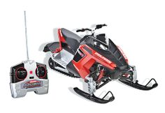 Polaris RUSH Pro Ride 1:8 RC Remote Control Toy Snowmobile Indoor//Outdoor RARE!