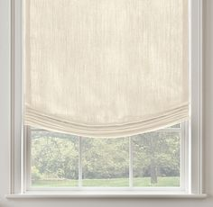 Belgian Textured Linen Relaxed Roman ShadeSelect Colors On Sale Roller Shades, Roller Blinds, Linen Roman Shades, Dry Cleaning At Home, Relaxed Roman Shade, Custom Shades, Custom Windows, Medicine Cabinet Mirror, Roman Blinds