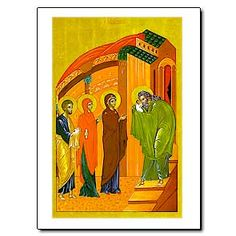 Catholic Icon Cards from Printery House are made in the USA and are inspired by the monks of Conception Abbey. printeryhouse.org. #printeryhouse