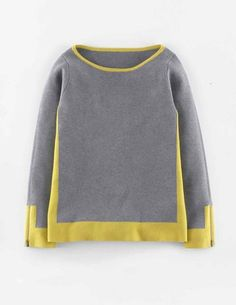 I would love to wear this sweater with a pencil skirt in an unexpected color.
