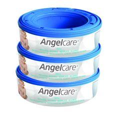 Angelcare AC1100 - Cintas para cubos para pañales Angelcare (3 unidades)