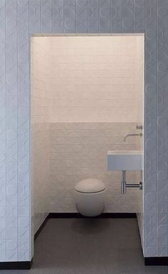 Laufen Alessi One toilet. Room, House, Interior, Tiles, Powder Room, Contemporary, Bathroom Interior, Bathroom, Toilet