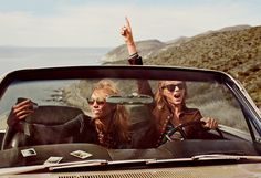 Karlie Kloss and Taylor Swift Vogue USA March 2015 | The Fancy Plum