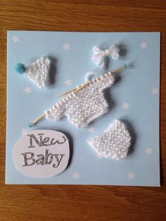 A personal favourite from my Etsy shop https://www.etsy.com/listing/231058404/unusual-new-baby-boy-card