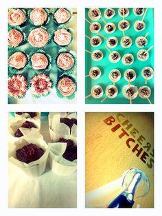 lánybúcsús Cupcake, Holiday Decor, Cupcakes, Cupcake Cakes, Cup Cakes, Muffin