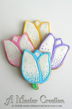 tulip cookies - Google Search