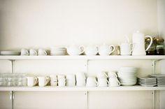 white cupboard...