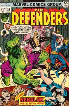 Defenders # 34 by Rich Buckler & Dan Adkins