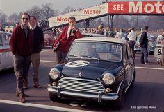 1965 Oulton Park - Morris Cooper S