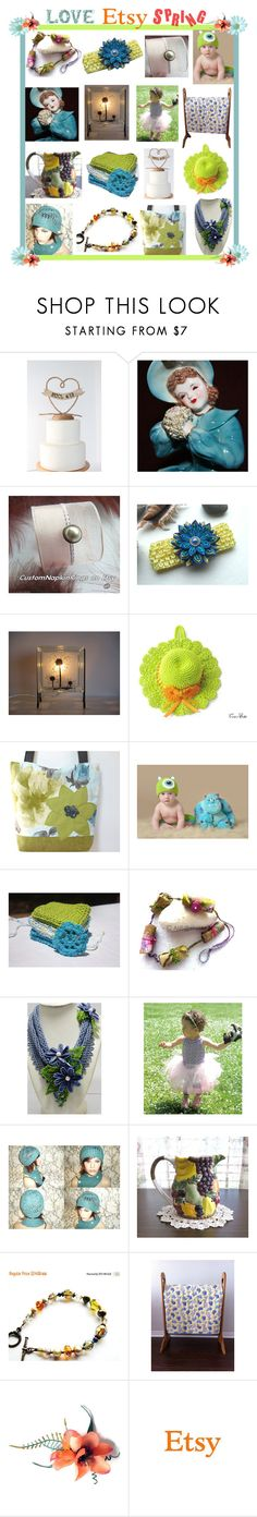 Love Etsy Spring by belladonnasjoy on Polyvore featuring мода