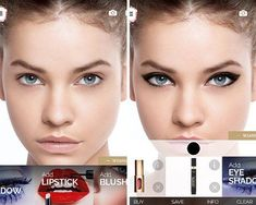 If you love using your smartphone then you have to get these beauty apps right away. You can book appointments, check out looks and nail art too. Simple Eyeshadow, How To Apply Eyeshadow, Eye Makeup Tips, Diy Makeup, Makeup Ideas, Simple Makeup, Natural Makeup, Diy Natural Beauty Routine, Beauty Routines