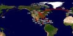 Chart of the Day - MSP International Destinations
