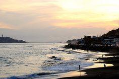 江之島 夕陽 (Sunset in Enoshima)