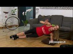 Jill Cooper - Addome e punto vita - YouTube
