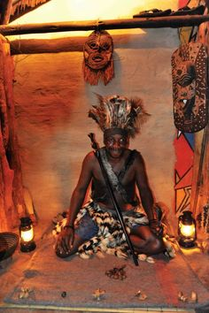 Have your fortune told by a traditional Sangoma at #TheBoma in #VictoriaFalls - where else in the world???