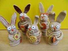 Easter Projects, Clay Projects, Kids Clay, 3rd Grade Art, Art Worksheets, Easter Table, Air Dry Clay, Elementary Art, Clay Art