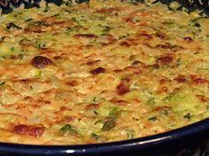 Courgettine allégée WW, recette d'un savoureux gratin de courgettes et de riz, crémeux et délicieux, facile et simple à réaliser pour un repas léger.