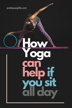 Yoga Poses & Workout : How yoga can help if you sit all day Quick Weight Loss Tips, Weight Loss Help, Weight Loss Program, How To Lose Weight Fast, Reduce Weight, Losing Weight, Restorative Yoga Poses, Yoga For You, Yoga At Home