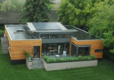 cutting edge shipping container home