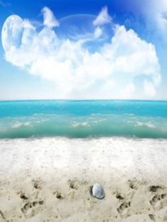 Beach Sand Wallpaper - Mobile Fun
