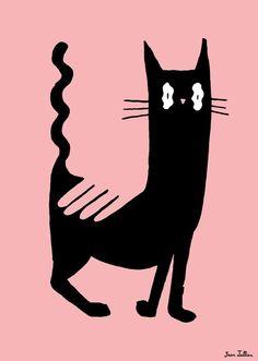 Jean Jullien, Chat noir