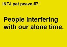 """Some folks don't mind when people just """"drop by"""" without calling first. But just because *my* doorbell rings doesn't mean I have to - or will! - answer it ;-) #introvert #INTJ"""