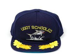 UGot Schooled Snapback Cap by SCHOOL ZONE HATS