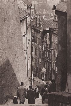Prague by M.Peterka, 60's