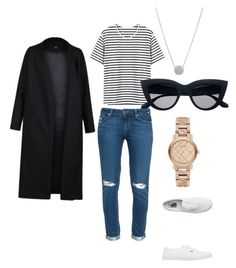 """Anne Curtis"" by mikai-toot on Polyvore featuring Paige Denim, Non, Burberry and Vans"