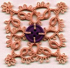 Button Flower - Tatting pattern by Lisa C. Trumble