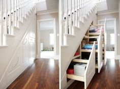 Cool Under Stairs Storage Ideas | Shelterness