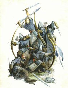 Guerriers Fantômes - Hauts Elfes