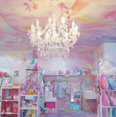 Bangkok& Unicorn Cafe Is Possibly the Most Magical Place on Earth Party Unicorn, Unicorn Cafe, Unicorn Rooms, Cute Unicorn, Bed For Girls Room, Girl Room, Little Dream Home, Pastel Room, Kawaii Room