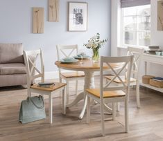 Calais Dining table - M. Round Dining Table, Dining Set, Dining Room Furniture, Dining Chairs, Flooring Shops, Wishbone Chair, Beautiful Interiors, Contemporary, Interior Design