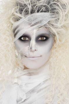 Kit de maquillaje momia adulto Halloween: Kit de maquillaje de momia para…