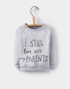 OMG 🤣 Small Human neeeeds this in his wardrobe! • Higgildy Grey Sweatshirt | Joules UK
