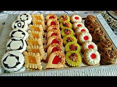 تشكيلة صابلي بريستيج بأشكال سهلة وراقية مذاقات مختلفة عن المعتاد👌👌رااائعة - YouTube Donut Recipes, Cookie Recipes, Fancy Food Presentation, Bread Shop, Arabic Sweets, Romanian Food, Sugar Cookies Recipe, Salmon Recipes, Food Design